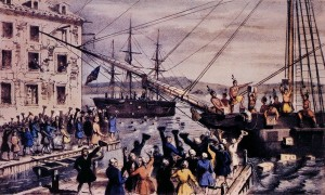 The Boston Tea Party!