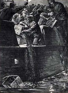 Boston Tea Party Image
