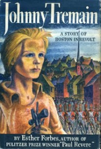 "Esther Forbes' novel ""Johnny Tremain"""